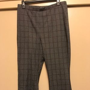 Pants - Size L Grey and brown striped pant